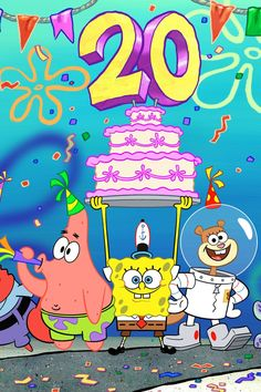 SpongeBob Spinoffs Featuring Your Favorite Characters Are Coming! Nickelodeon Spongebob, 20th Birthday, Gummy Bears, Underwater World, Spongebob Squarepants, 20th Anniversary, Our Kids, Your Favorite, The Past