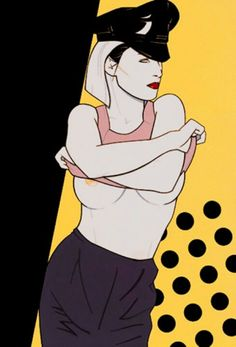 Nagel... Doesn't look familiar I believe Madonna used this style and try to replicate it for her justify my love