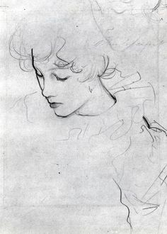 Polly Barnard or The Study for Carnation, Lily, Lily, Rose (ca. 1885) by John Singer Sargent
