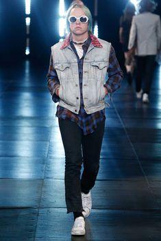 Saint Laurent Spring 2016 Menswear Fashion Show Collection