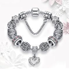 $11 for a Charm Bracelet + Free Shipping! Buy Now!  https://www.bonanza.com/listings/Charm-Bracelet-1-Unit-Antique-Silver-Starfish-Eiffel-Tower-Snowflake/478314313