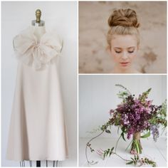 Ethereal and romantic, the Dolly Pearl 'Eloise' dress is now available at www.dollypearl.com and in stores. Shown in Sand, styled with a loose top knot. #dollypearl #weddings #bride #bridal #bridesmaid #dress #style #fashion #inspiration #love