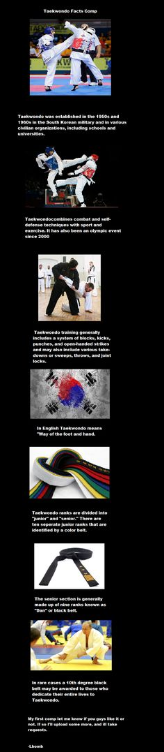 Taekwondo Facts Comp // funny pictures - funny photos - funny images - funny pics - funny quotes - #lol #humor #funnypictures