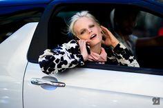 Le 21ème / Hanne Gaby Odiele   Milan  // #Fashion, #FashionBlog, #FashionBlogger, #Ootd, #OutfitOfTheDay, #StreetStyle, #Style
