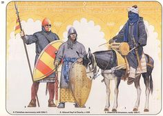 Al-andalus warriors | illustration of angus mcbride showing … | Flickr