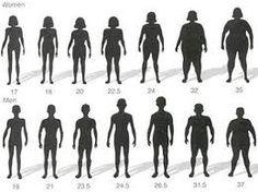 body weight comparison