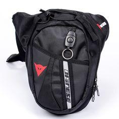 Black Drop Leg Motorcycle Cycling Fanny Pack Waist Belt Bag #jewelry, #women, #men, #hats, #watches, #belts