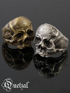 QUETZAL [Vanitas Ring] (silver accessory / Silver925 / ring /skull ring)
