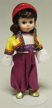 "International Dolls | MADAME ALEXANDER International-8"" Doll STOCK"