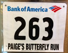 11th 5K - PAIGES BUTTERFLY RUN.  June 7, 2014.  Syracuse, NY.  Time 31:42min (10:13). Running Bibs, Bank Of America, June, Company Logo, Butterfly, Logos, Logo, Butterflies