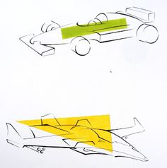 Vehicle, sport car and plane.