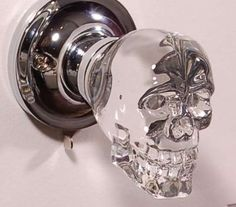 An LED Crystal Skull Handle is Perfect for Inviting Demonic Guests trendhunter.com