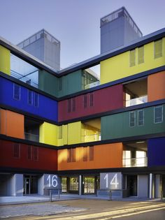 Pictures - SOCIAL HOUSING BUILDING IN CARABANCHEL. MADRID - Architizer