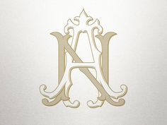 Vintage Wedding Monogram AN NA Wedding Monogram Digital Monogram Tattoo, Monogram Fonts, Monogram Letters, Tattoo Lettering Fonts, Lettering Design, Logo Design, Wedding Fonts, Monogram Wedding, Wedding Tips