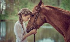 horse and girl image. This gives me an idea to do a beauty treatment with client and a photo shoot as part of therapy, and so they have images to take home & remember their time here @ SG