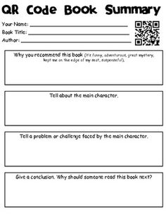 {Free} QR Code Book Summary/Recommendations