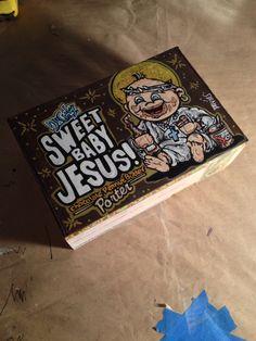 Sweet Baby Jesus Beer Box