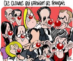 Mon dessin in the @ Courrier_picard du 21/10/2014: Des # clowns effrayants en France!