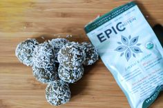 EPIC Protein Balls - three flavors and all completely plant-based and raw. Because snacking should always be fun and healthy! http://www.nibsandgreens.com/epic-protein-balls/
