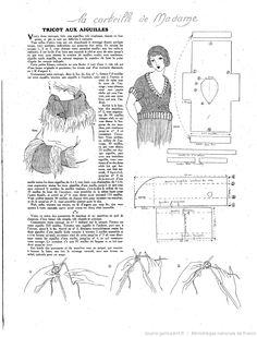 Les Modes de la femme de France 1919/10