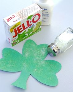 This March, try decorating your home with these scented shamrocks--sure to fill your home with Irish spirit.