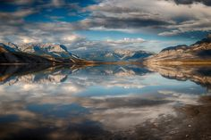 """The Mirror River - <a href=""""www.felicelupo.com"""">WHERE MOUNTAINS TOUCH THE SKY AND WATER REACHES LAND, IS WHERE WE LIVE, CREATE AND DREAM. </a>  Right next to my favourit place on Earth, on the oposit side of the street the beautiful Athabasca River is located... This was the perfect day for this Shot! Thank you for the support of my previous pictures! More pictures will come soon!    © 2015 Felice Lupo   Cheers ;)"""