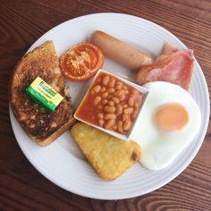 [I ate] English Breakfast