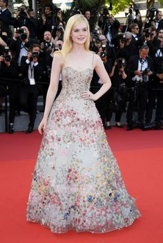Elle Fanning at Cannes, '17
