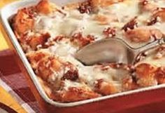 Pizza Casserole; this was another quick and easy meal that everyone loved...even my two year old!!