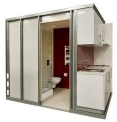 Easy Installation Prefab Bathroom Pods Tiny House Pinterest Houses And