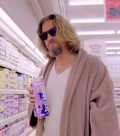 """Jeff Bridges """"The Dude"""" -- haha not a book but a movie worth seeing/renting.....The Big Lebowski"""