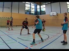 Handball Defence training - YouTube