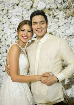 this two people who makes ALDUB nations lives more meaningful. The accidental love team who brought butterflies into our stomach and kilig-to-the-bone experience. Accidental Love, Maine Mendoza, Alden Richards, Opposites Attract, Couple Pictures, Fangirl, Gowns, Actors, Couples