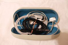 Use an old sunglasses case to store loose cables when you travel.