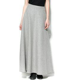 Another great find on #zulily! Gray Wool Maxi Skirt - Women by Zero Degrees Celsius #zulilyfinds