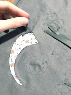 [Tuto] L'appliqué inversé sur du jersey - Le blog thread