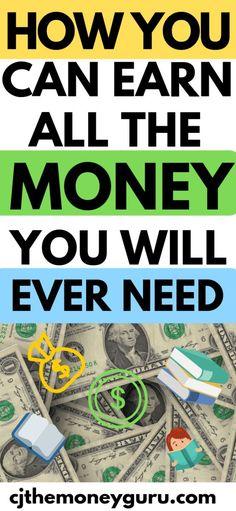 Hobbies For Women Make More Money, Make Money From Home, Extra Money, Make Money Online, Money Tips, Money Saving Tips, Managing Money, Savings Planner, Get Out Of Debt