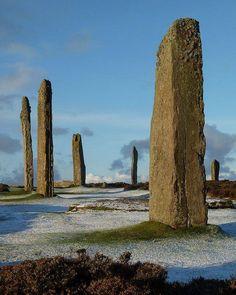 Stones of Brodgar, Orkney, Scotland <3 <3 <3 <3 <3