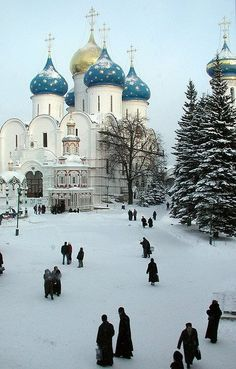 Winter in Russia. * Thanks for showing the beauty of Russia, and world peace… Places Around The World, The Places Youll Go, Travel Around The World, Places To See, Around The Worlds, Wonderful Places, Beautiful Places, Beautiful Buildings, Winter Scenes