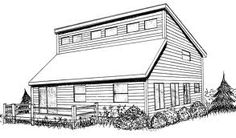 saltbox roof or 2 skillion roof lines. Roof Design, Window Design, House Design, Cottage Design, Westport Homes, Clerestory Windows, Skylights, Passive Solar Homes, Casas Containers