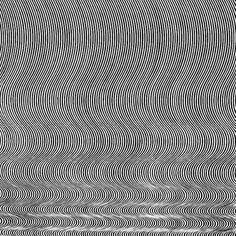 "murmurs: "" ""Current""-Bridget Riley, 1964 "" Bridget Riley Op Art, Art History, Surrealism, Illusions, Black And White, Facade, Ideas, Black White, Blanco Y Negro"