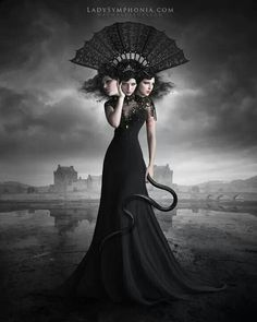 We have a selection of beautiful dark images by the Brazilian artist Nathalia Suellen, part photograph, part photo-manipulation and part digital painting but always stunning! Dark Fantasy Art, Fantasy Artwork, Dark Artwork, Surreal Photos, Surreal Art, Dark Beauty, Percy Jackson, Vampires, Divas