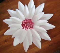 Large Gerbera Daisy Paper Flower Decor by DreamEventsinPaper $25.00