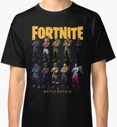 Fortnite Legendary Skins Battle Royale Classic T-Shirt Classic T Shirts, Battle, Gaming, Design Inspiration, Mens Tops, Fashion, Moda, Videogames, Fashion Styles