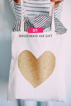 DIY Bridesmaids' gifts