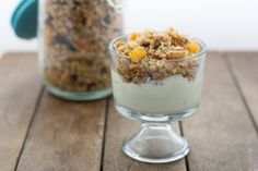 Gluten Free, Oat Free Granola has all the crunch of granola without the oats.