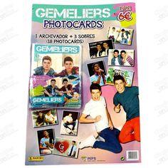 CARTON PHOTOCARDS GEMELIERS PANINI - www.chuchesonline.com