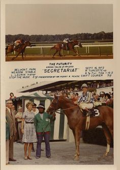 Secretariat - I have a copy of this one sent by Helen Chenery thirty years ago. The pictures she sent are the pride of my collection.