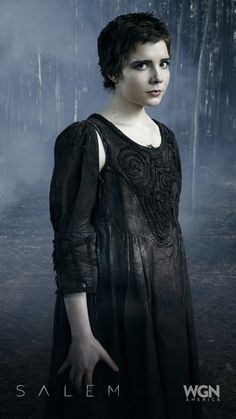 """Mercy can lead a revolt against Salem's most powerful witch – will she betray Mary? (Elise Eberle).  """"Salem"""" Season 2 – Sunday, April 5 at 10/9c on WGN America."""