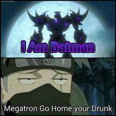 Megatron got drunk last night